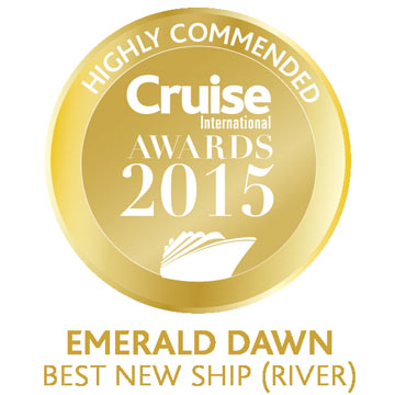 2015 Cruise International Awards - Best New Ship - Highly Commended