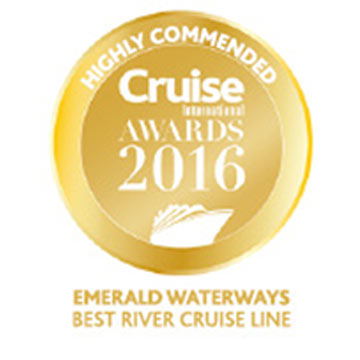 Cruise International Awards 2016 - Best River Cruise Line - Highly Commended