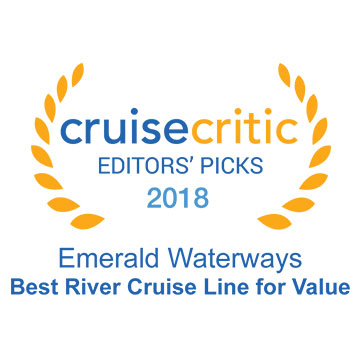 Cruise Critic 2018 Award - Best River Cruise Line for Value